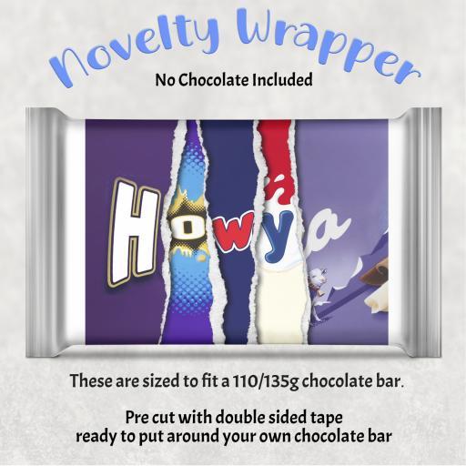 How ya Chocolate Bar Wrapper
