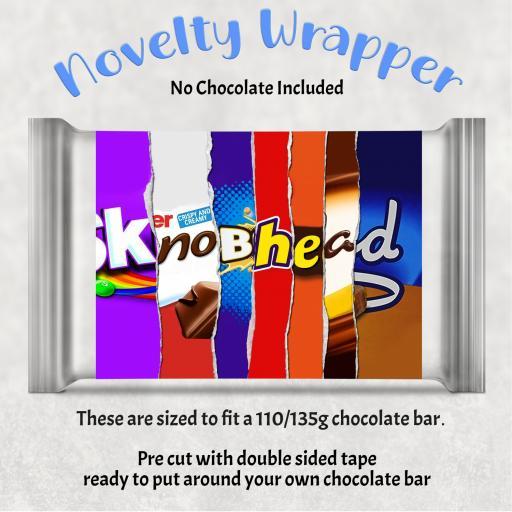 Knobhead Chocolate Bar Wrapper