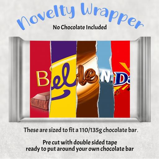 Bellend Chocolate Bar Wrapper