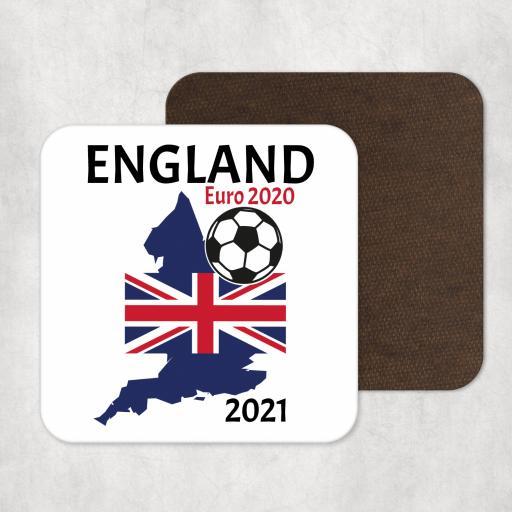 England Euro 2020 - 2021 Coaster