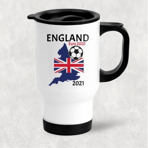 England Euro 2020 - 2021 Travel Mug