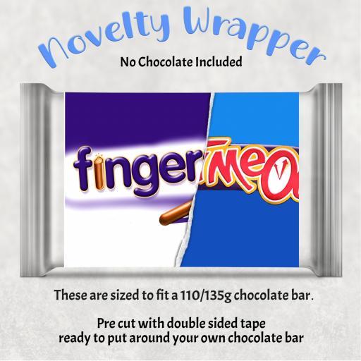 Finger Me Chocolate Bar Wrapper