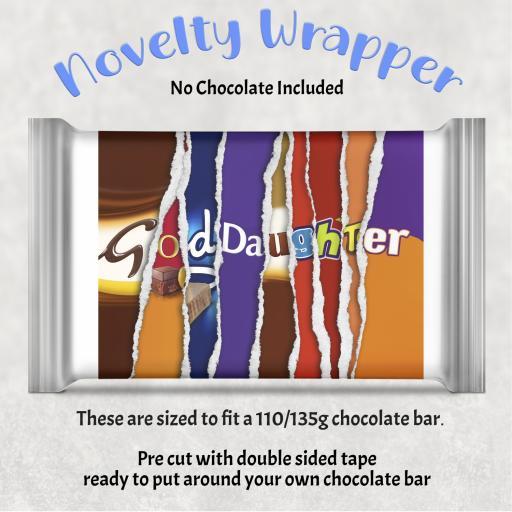 Goddaughter Chocolate Bar Wrapper