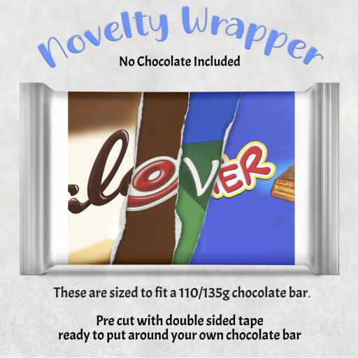 Lover Chocolate Bar Wrapper