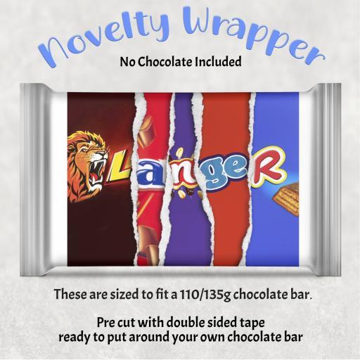 Moran Chocolate Bar Wrapper