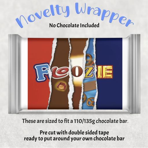 Floozie Chocolate Bar Wrapper