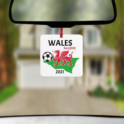 Wales Euro 2020 - 2021 Car Air Freshener