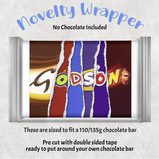Godson Chocolate Bar Wrapper