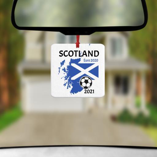 Scotland Euro 2020 - 2021 Car Air Freshener