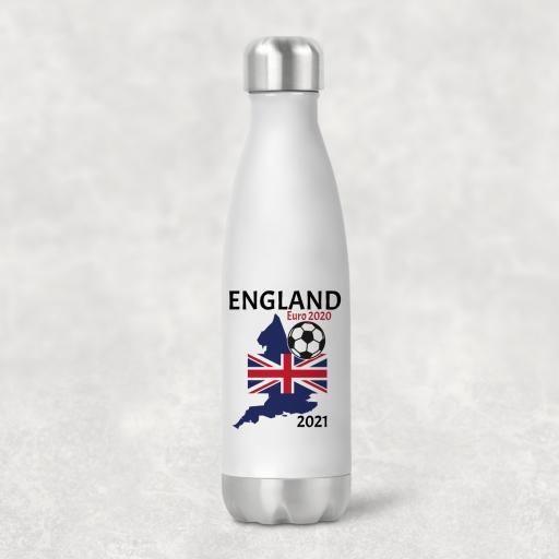 England Euro 2020 - 2021 Water Bottle