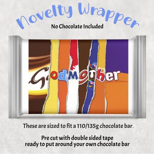 Godmother Chocolate Bar Wrapper