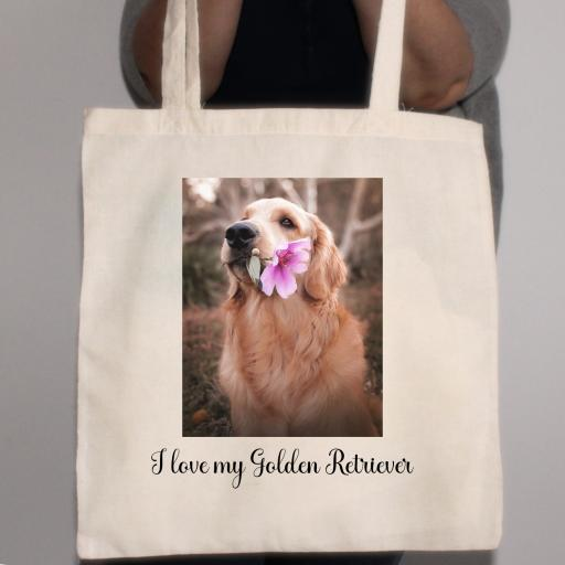 Design your Own 100% Cotton Tote Bag