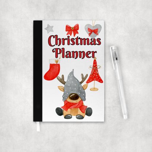 Christmas Planner Reindeer Notebook