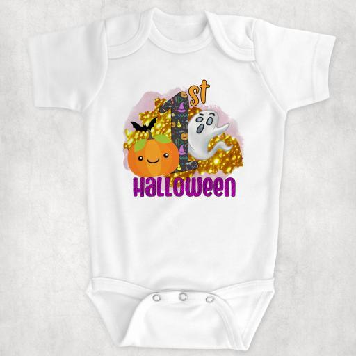 1st Halloween Bodysuit