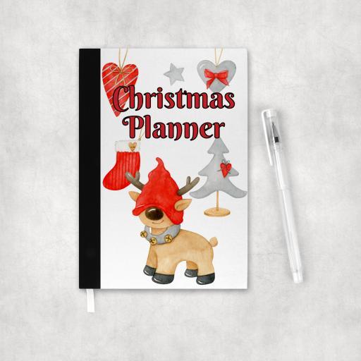 Christmas Planner Reindeer V2 Notebook
