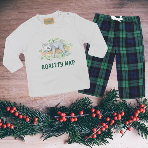 Koality Nap Tartan Pyjamas Toddler