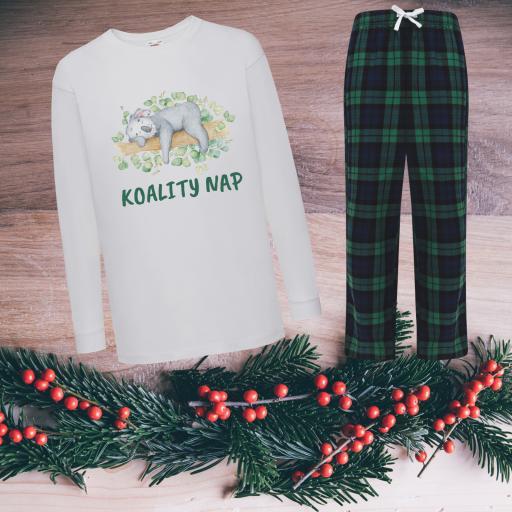 Koality Nap Tartan Pyjamas Child
