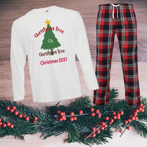 Design your own Tartan Christmas Pyjamas Child