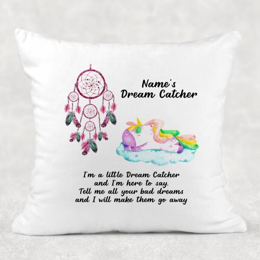 Dream Catcher Unicorn Personalised Cushion Cover