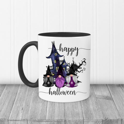 Happy Halloween Gnome Printed Mug